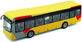 bus transport en commun jaune