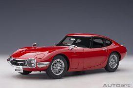 vieille voiture de sport coupe rouge