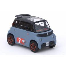 toute petite voiture grise electrique