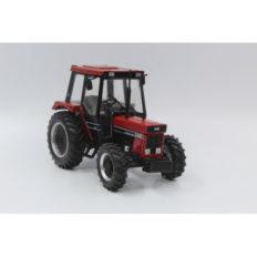 vieu tracteur agricole rouge et noir