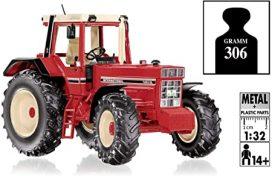 vieux tracteur agricole rouge