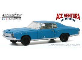 vieille voiture coupe bleu