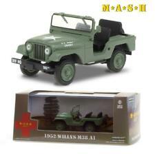vieille jeep verte d'armee