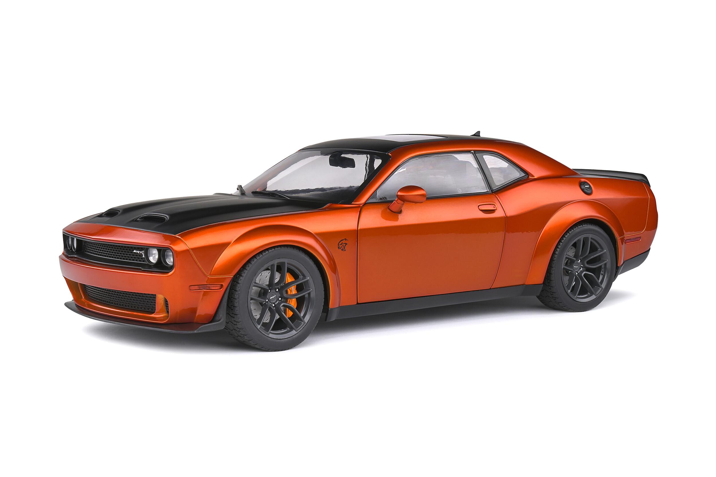 grosse muscle car orange