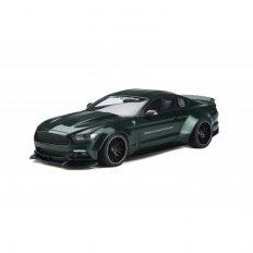 voiture de sport coupe verte