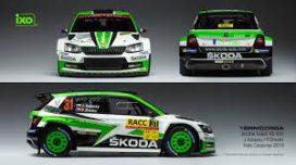 voiture de rallye verte