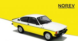 vieille voiture de sport blanche et jaune