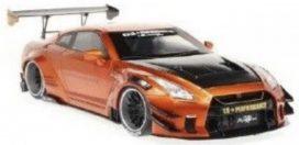 voiture de tuning coupe orange