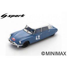 vieile voiture de course bleu avec toit blanc
