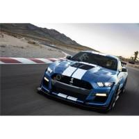 voiture coupe de sport bleu