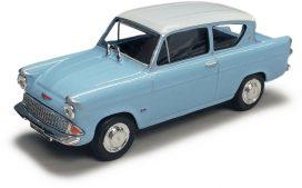 vieille voiture de film bleu