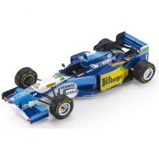 vieille voiture de course formule 1 bleuet jaune