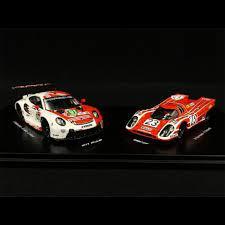 set de 2 voiture de course rouge